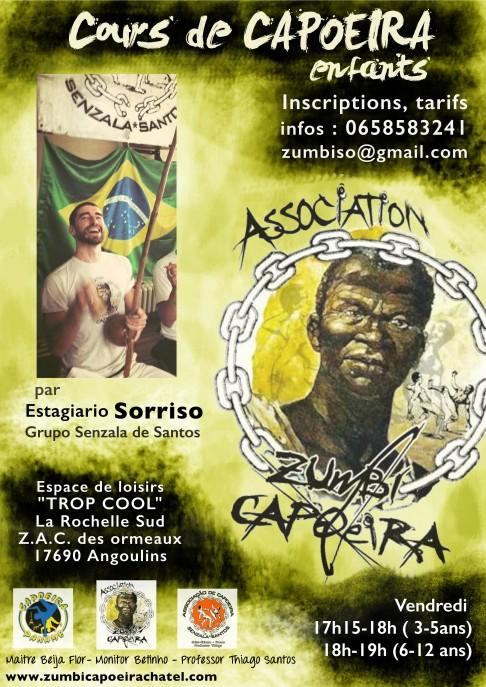 Affiche Zumbi Capo chatel enfants