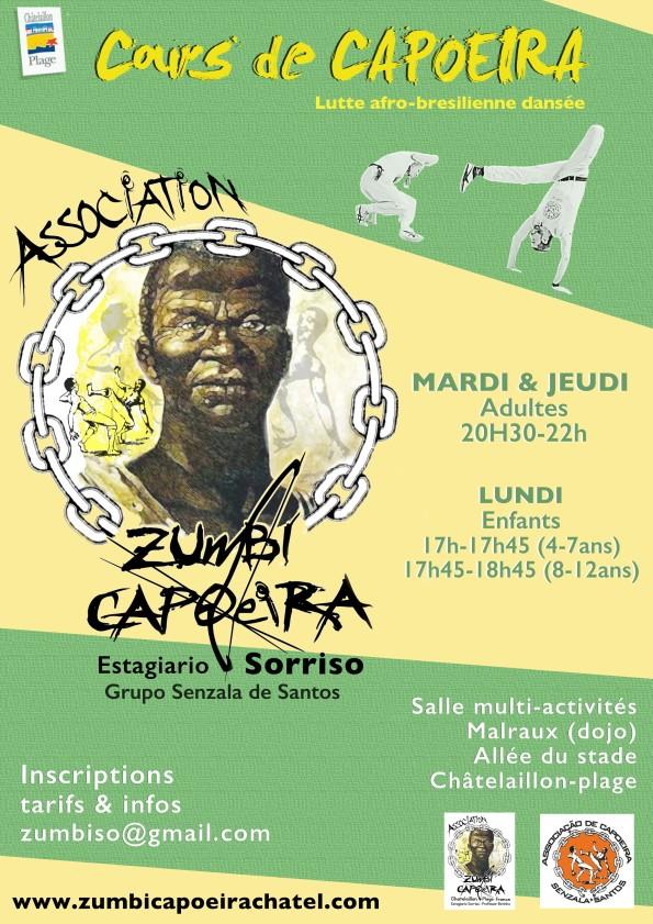 Affiche Zumbi Capo chatel 2017
